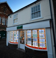 Exterior of Stephensons Estate Agents