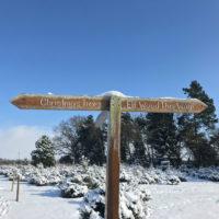 Dawney Farm Signpost to Elf Wood