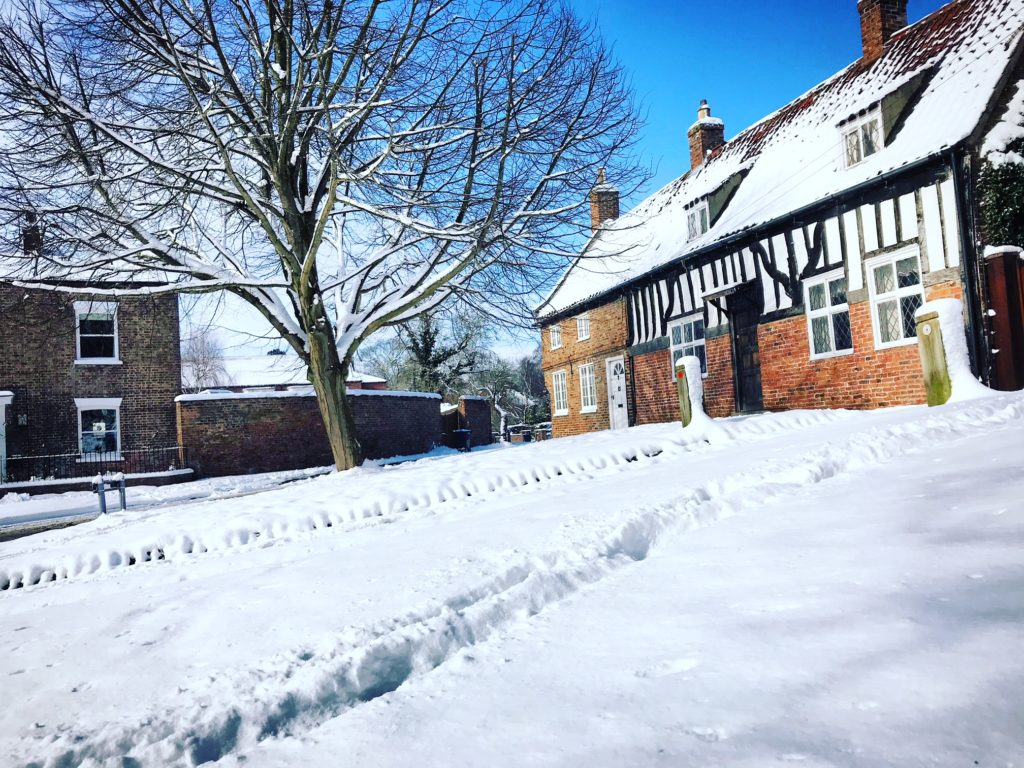 Easingwold in the snow