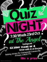 Pub Quiz October 2019